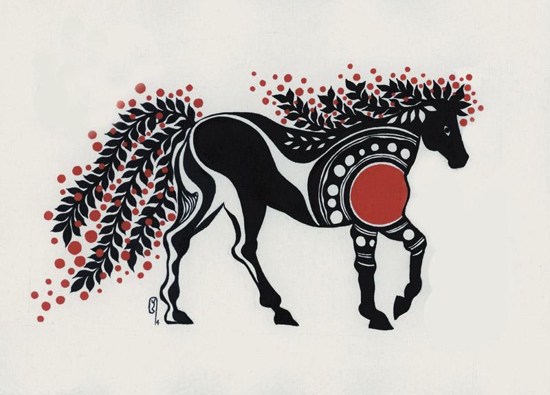 絵馬_HORSE_card-
